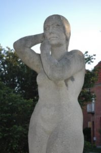 Kvinden der kæmmer sig - Gunnar Hammerich